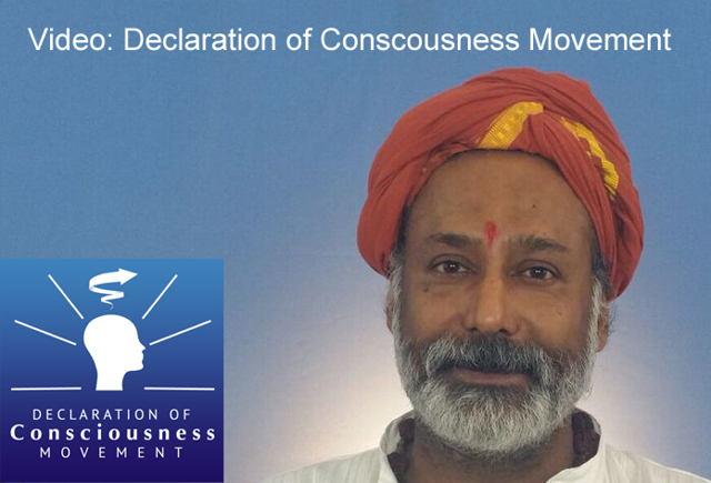 Video . Declaration of Consciousness Nandhi108