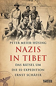Bookcover , NAZIS IN TIBET , Das Ratsel Um Die SS-Expedition by Ernst Schafer