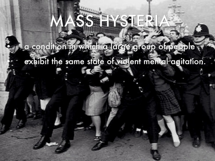 MASS HYSTERIA and what its is