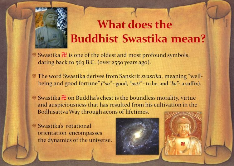 What Does the Buddhist Swastika Mean. The word derives from Sanskrit