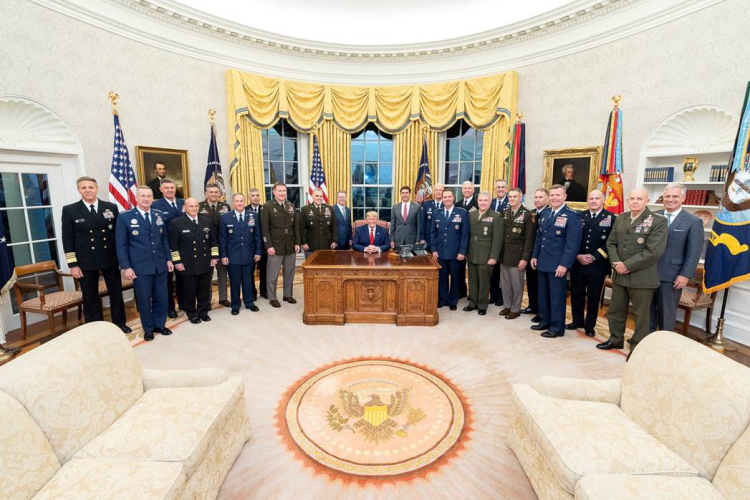military-with-trump